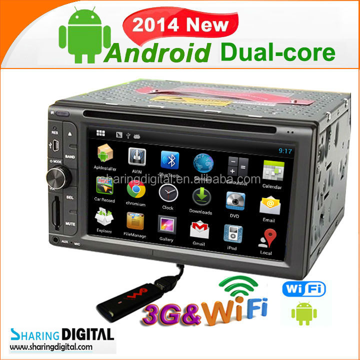 S-DVD6093GDA All cars with audio/radio/canbus Android navigation system Car DVD GPS