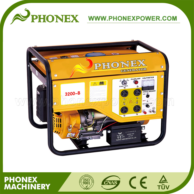 Phonex KOBAL Type 2000W 2KVA Generator Price 5.5HP Gasoline Generator for Sale