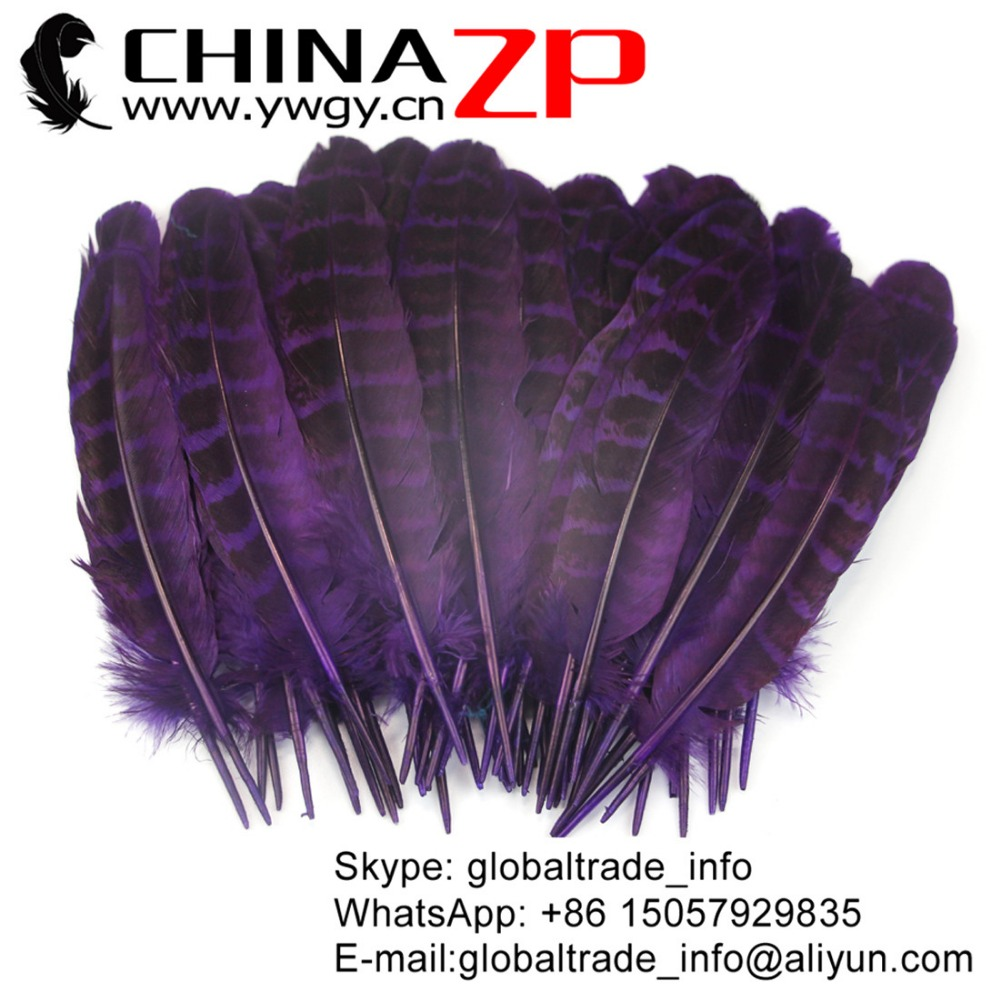 CHINAZP Factory Directly Sell High Quality Cheap Hen Ringneck Pheasant Wing Feather Carnival Costume