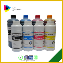 High fastness t-shirt pigment textile printing ink for epson Stylus C66