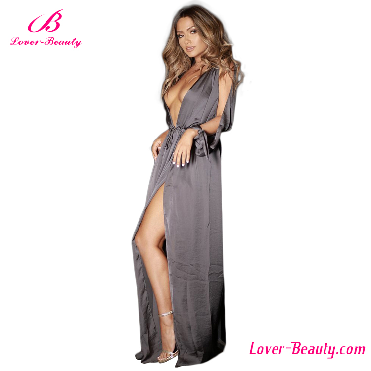 Private Label Women Maxi New Ladies Long One Piece Dress
