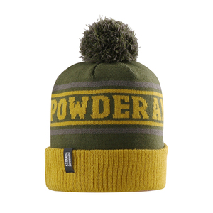 OEM ODM High Quality Wholesale Custom Yellow Knitted Hat Beanie With Pom