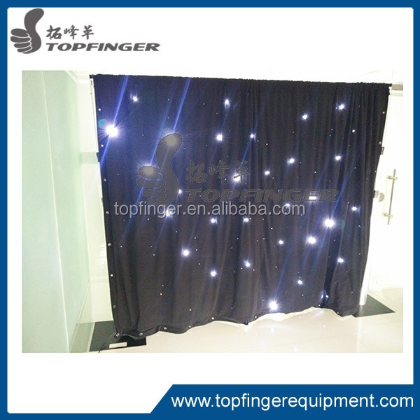 Topfinger factory RGB creative handmade gifts events pipe drape