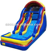 2013 Hot-selling inflatable water slide for kids/inflatable giant slide&pool combo