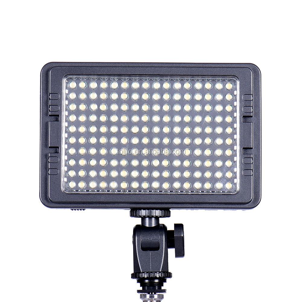 Tolifo 160 Led cameras photographic professional lighting equipment for camcorder DSLR camera film shooting