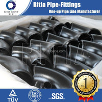 carbon steel material a234 wpb elbow pipe fittings