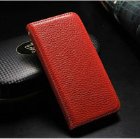 Elegant tiny lychee pu leather case cover for iphone5 phone case 2013 new products