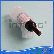 PE/PA Cargo protective sealed air valve bag packing wine bottle