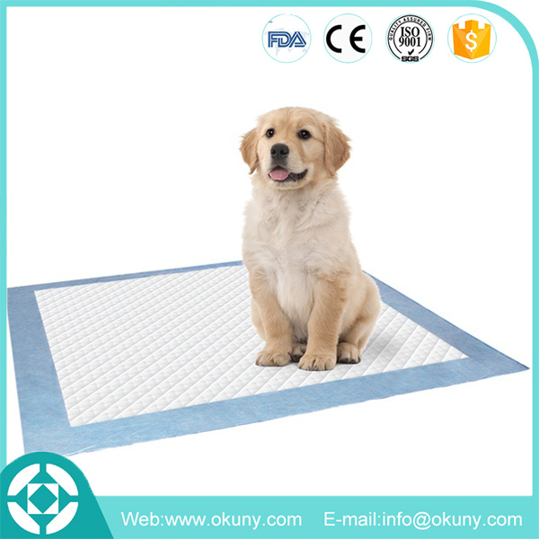 High quality disposable Waterproof Indoor Cat Toilet Training absorbent dog pad