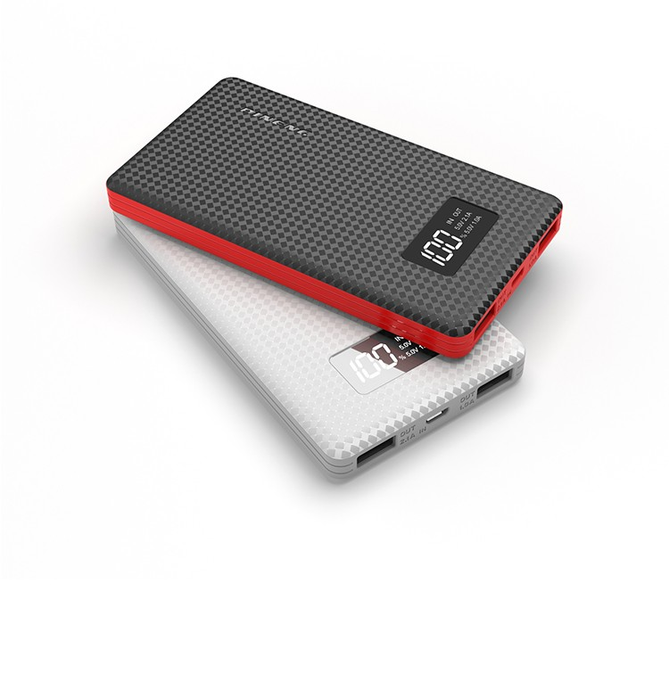 The Best Popular Super Slim Li-polymer Power Bank in Online Alibaba /External Battery Charger 6000 mAh PN-960