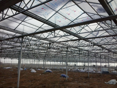 anti-fog opaque polycarbonate hollow sheet for industrial skylights