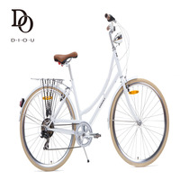 cheap CE Approved 7 speed vintage City Bike, Colorful Beach Bike,Femal/male City Bike/Inner 3/8 Speed urban city bicycle