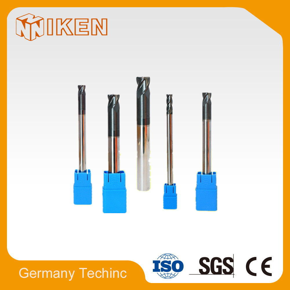 Carbide Corner Radius Aluminum Processing Cutter/Carbide Corner Radius End Mill