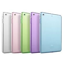 For iPad Air 1 Case Clear Transparent Soft TPU Silicone Back Case for Apple iPad 5 Air 1 Tablet PC Protective Cover