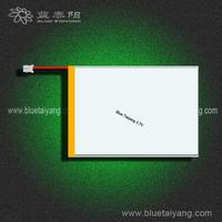 556593 tablet PC 3.7v polymer lithium replacement battery 3400mAh for mid
