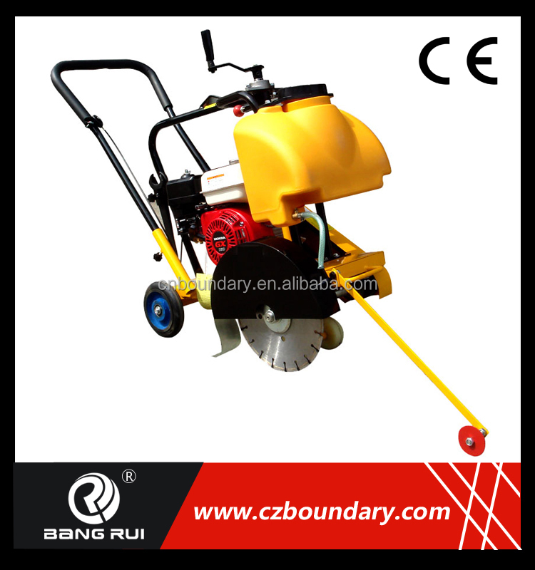 walk behind gasoline robin honda asphalt floor road used cutting saw machine concrete cutter