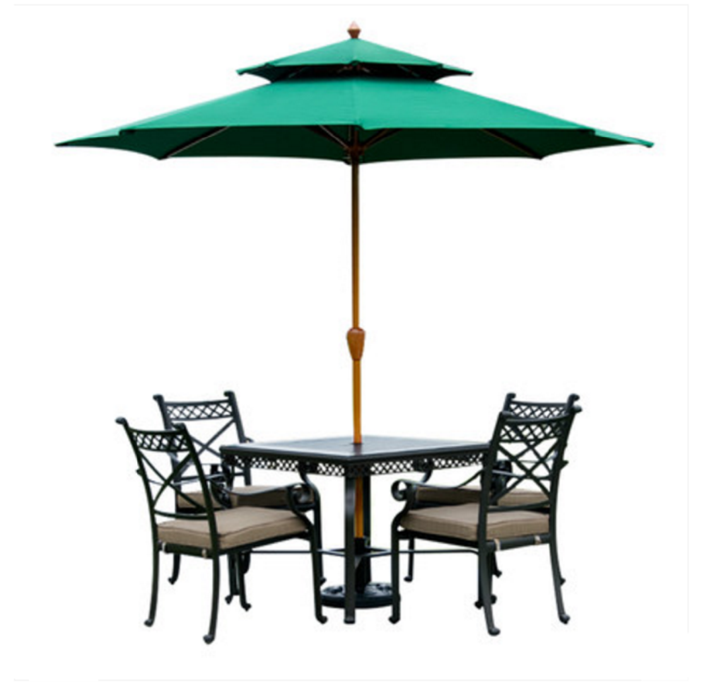 Anti uv factory price beach umbrella for chair