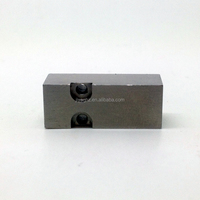 high precision metal spare cnc machining components sewing machine components