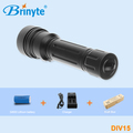 High quality diving torch for sea diving, flashlight LED, high lumens professional scuba diving light