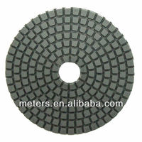 4 Inch Granite Wet Polishing Pad For Concrete