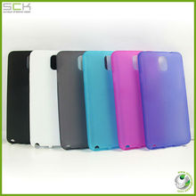For Samsung galaxy note 3 transparent matte tpu case cover skin housing