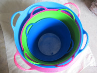 flexible plastic household buckets/garden bucket,China supplier