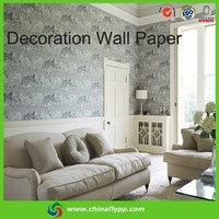 Shanghai Supplier Wall papers bedroom interior decoration material