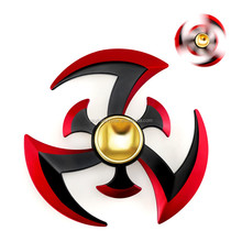 King Glory Anime Fidget Hand Spinner EDC Naruto Ninja Fidget Rotate Model Stress Reducer Toys