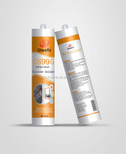 Glass Stone Aluminum And Plastic Materials Perimeter joints and waterproof Silicone Sealant