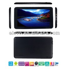 China 7 inch best low price android 4.2 os dual-coral tablet pc