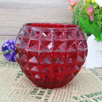 pineapple shape round inner-spraying candle holder