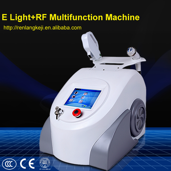 2015 hot selling elight hair removal machine/rf skin lifting e light multi-function beauty machine