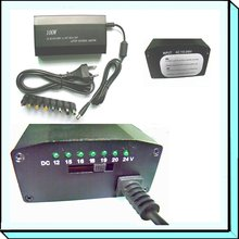 100W AC/DC aluminium universal laptop adpter with 8 tips