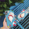 3D Finger Pinch Phone Case For iPhone 6 6S 7 Plus Silicon Cover Cute Cartoon Cat Panda Rabbit