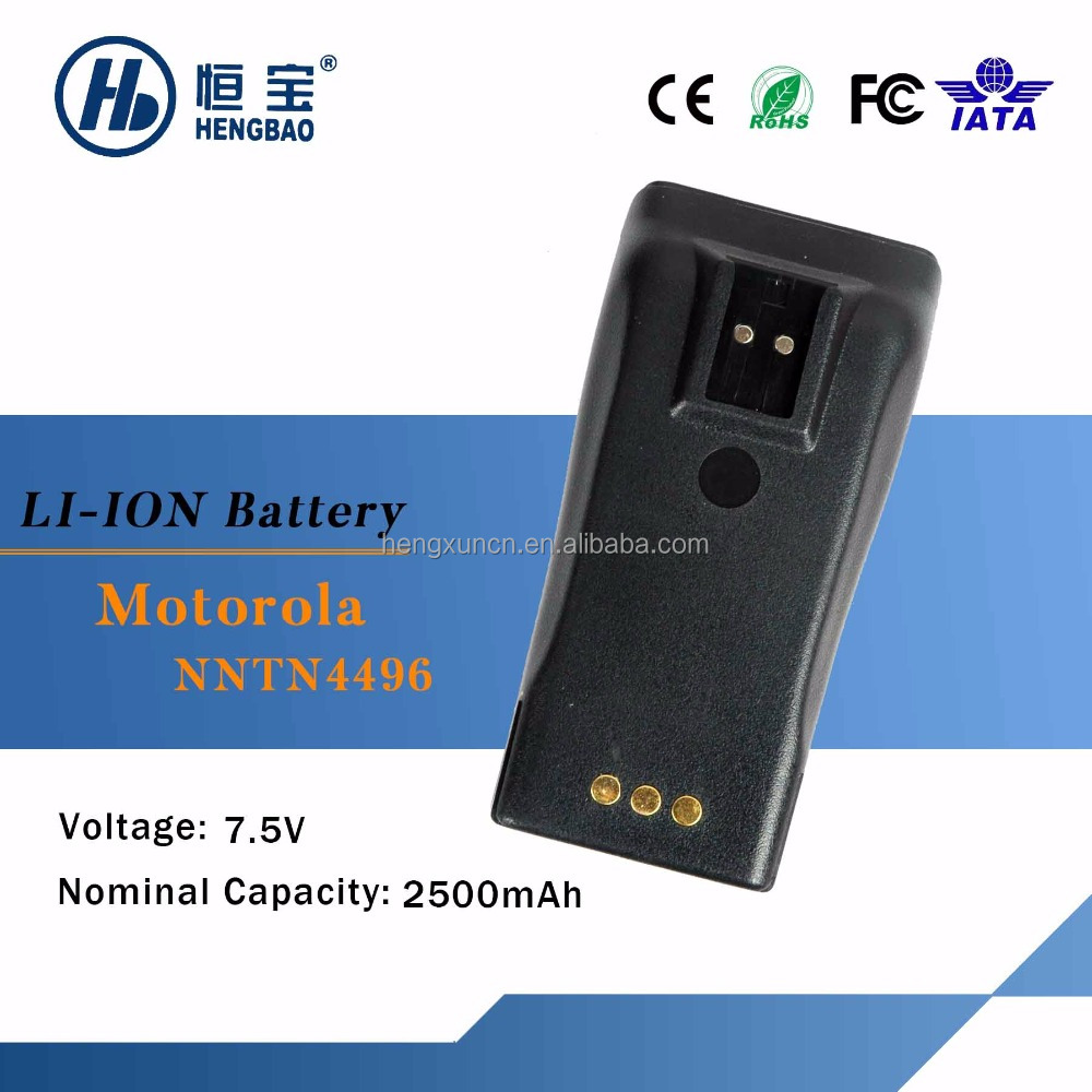 wireless intercom battery NNTN4496 for Motorola GP3188 / GP3688