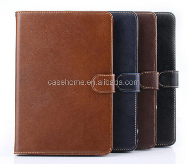 Retro Genuine Leather Card Stand Smart Case Cover for Apple ipad Mini 123 leather case cover