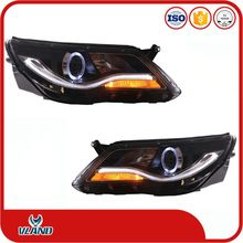 VLAND Volkswagen Tiguan 2010-2012 led head lamp headlights daytime running lights
