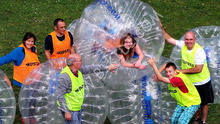 Sports entertainment football inflatable body zorb ball