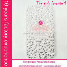 hot selling crystal bling case for iphone 6