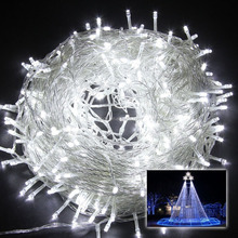 8 Modes 10M 100 LED String Fairy Light for Wedding Christmas Party Holiday light(Warm White)