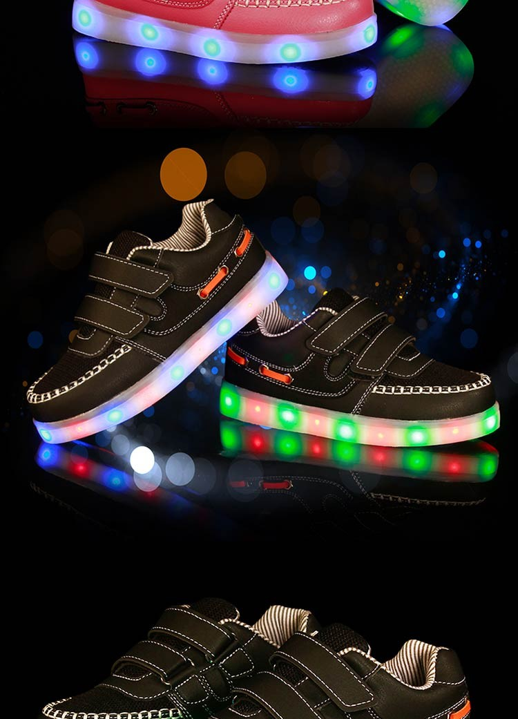 china new model kids led breathable casual shoes wholesale,fashion childen casual sport shoes