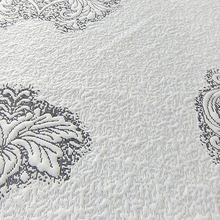 Unique Fancy Designs Popular polyester jacquard knitted mattress fabric