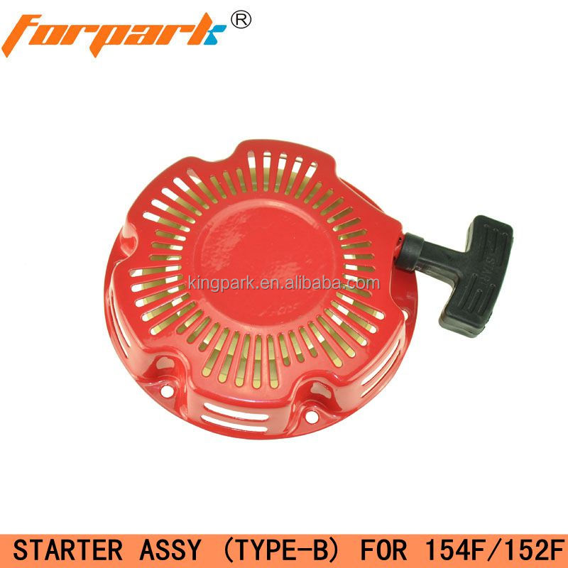 154F (152F) cheap gas generator spare parts recoil starter assy (type-B)