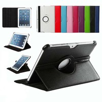 360 Rotating Stand Flip PU Leather Smart Tablet Cover Case For Samsung Galaxy Tab 2 10.1 P5100 P7500