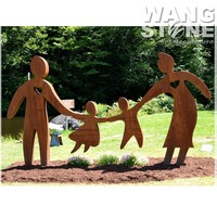Love Family Mother and Child Garden Sculpture for Sale