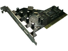 2014 cheap products PCI USB 2.0 4+1Port Card ,usb card for pci slot