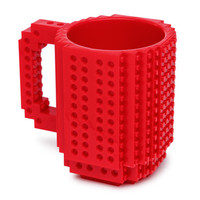 Popular Selling Build-on Brick Mug DIY Assembling Cup Custom Coffee Mug