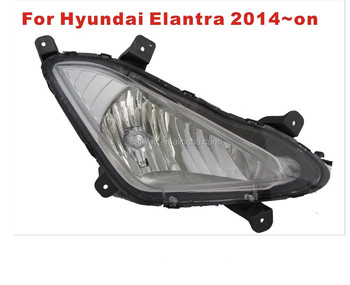 for hyundai elantra fog lamp 2014~on