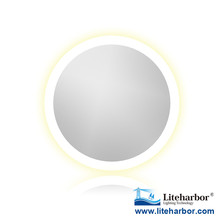 LED Mirror Lighting 24W light surrounded mirror for bathromm makeup