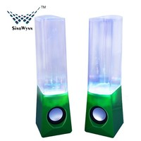 LED Lighting USB Water Fountain Speaker